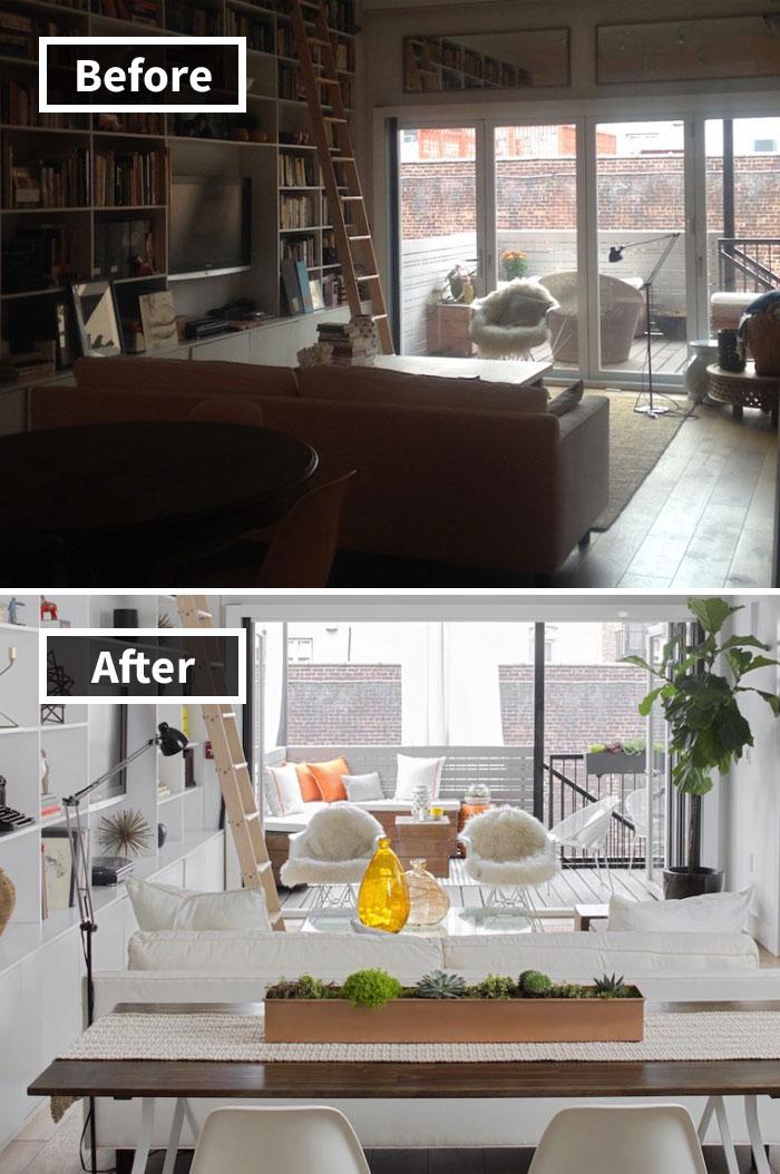 Những hình ảnh trước và sau khi phòng cũ được phù phép thành phòng mới khiến bạn không thể tin vào mắt mình - Ảnh 20.