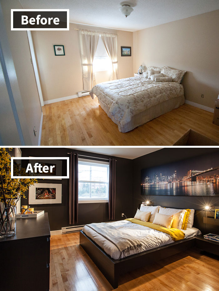 Bedroom Transformation