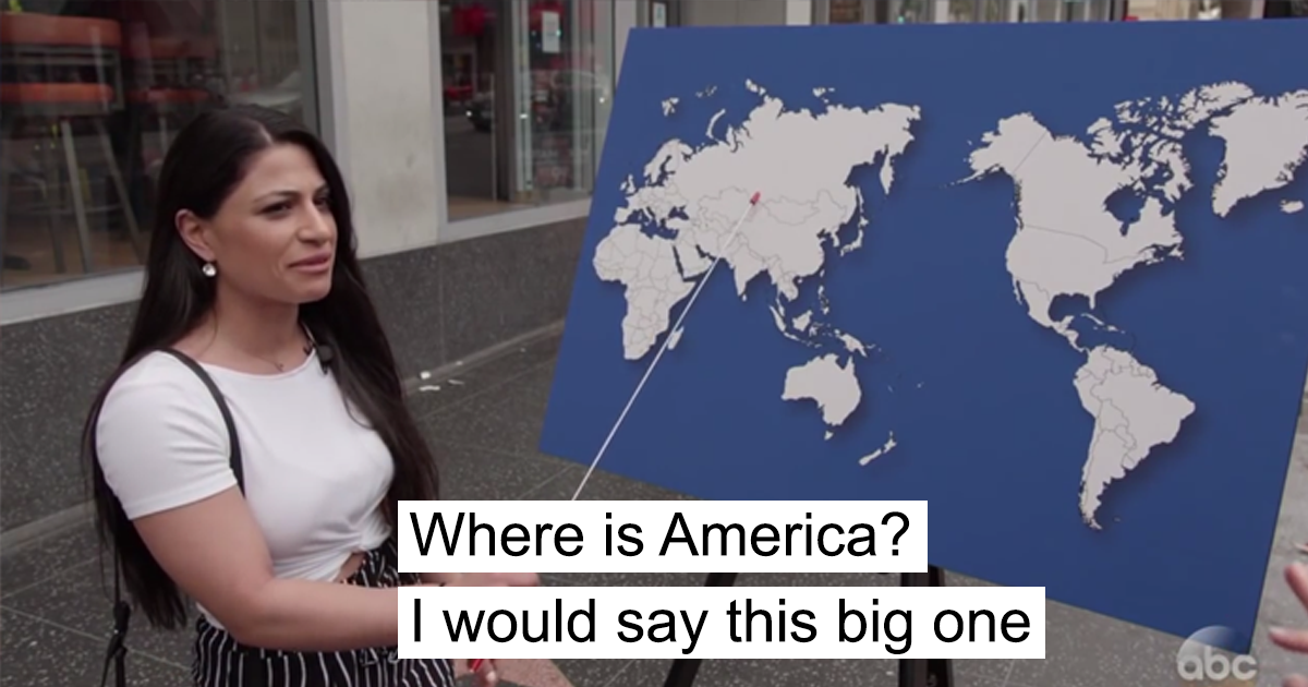 Americans answer can you name country jimmy kimmel fb17