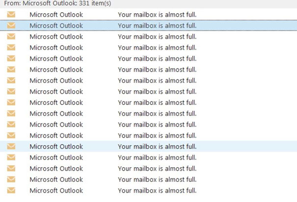 Oh, I Have Too Many E-Mails In My Inbox? Why Don't You Send Me An E-Mail About It Everyday