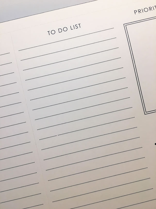 The Missing Dot On My To-Do List