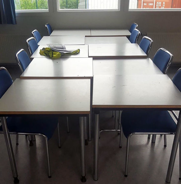These Tables At My School