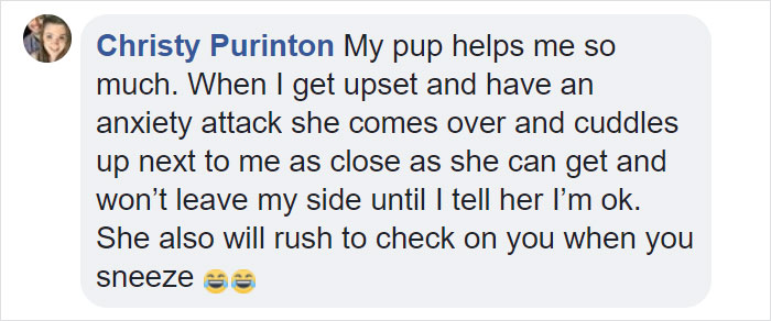 Woman Gets A Panic Attack In An Airport, And The Way Her Service Dog Reacts Will Melt Your Heart