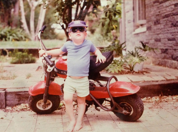 Tonight My Parents Showed Me A Picture Of Me, Age 3, 1985