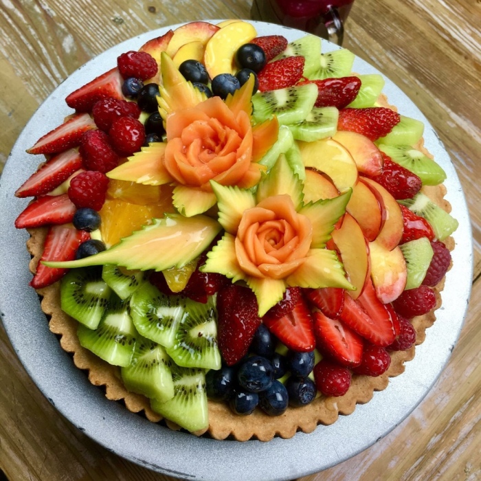 When A Fruit Carver Become A Pastry Chef