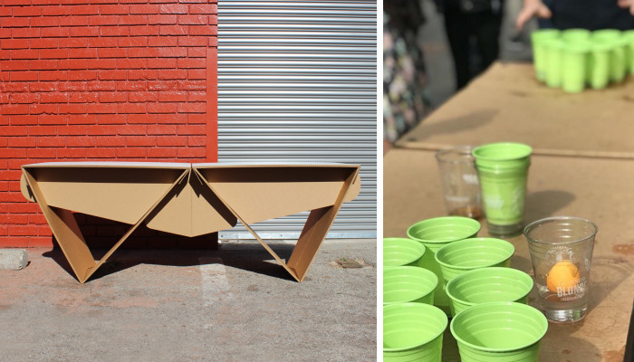 I Have Created The World's First Eco-Friendly Beer Pong Table And Its Made In Los Angeles!