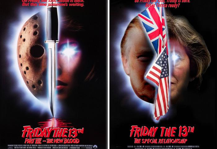 Trump Stars In Horror Films