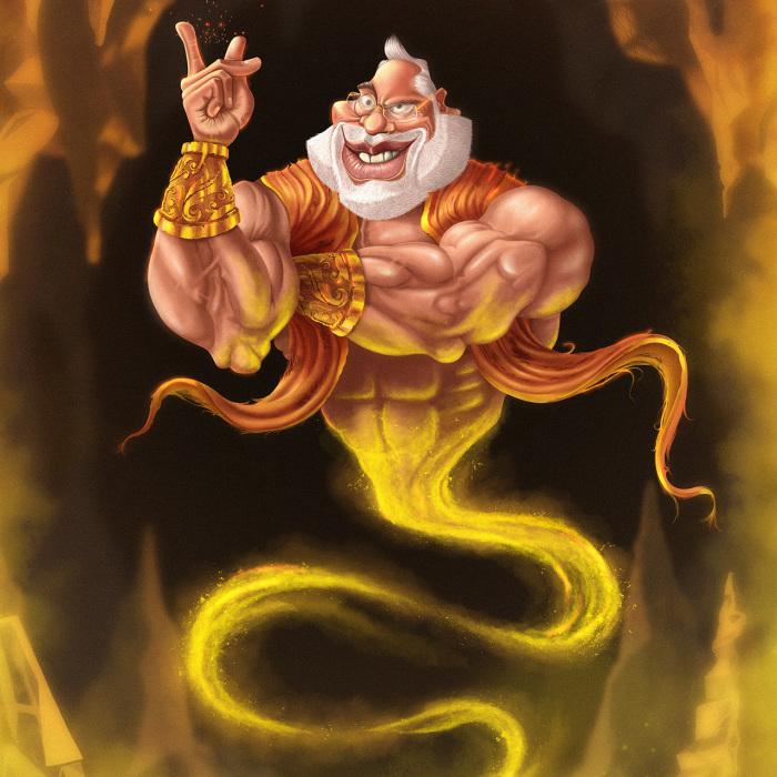 Genie Modi, The Portrayal Of Indian Prime Minister
