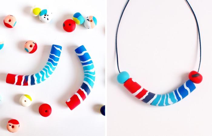 I Make Handmade Jewelry From Polymer Clay