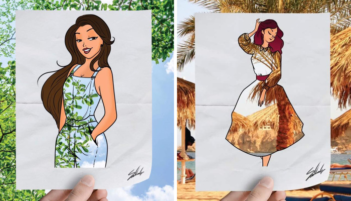 20 Fashion Cutouts Showing The Beauty Of Egypt In A Unique Way