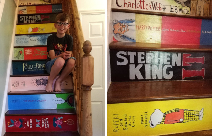When My Staircase Became The Bookcase Of Our Dreams