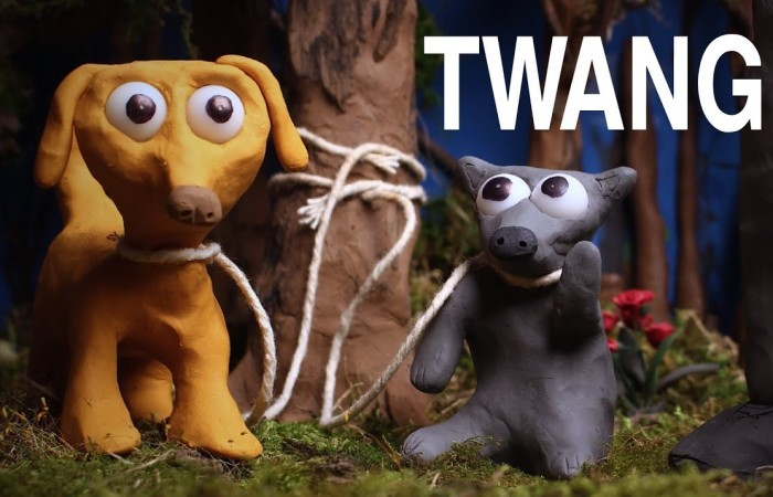 I Made This Animation Of Two Adorable Clay Dogs