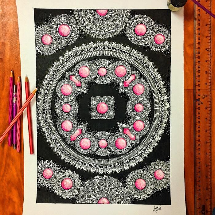 I Create Therapeutic Art