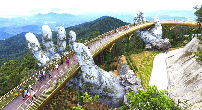 Breathtaking Bridge In Vietnam Looks Like Something From Lord Of The Rings