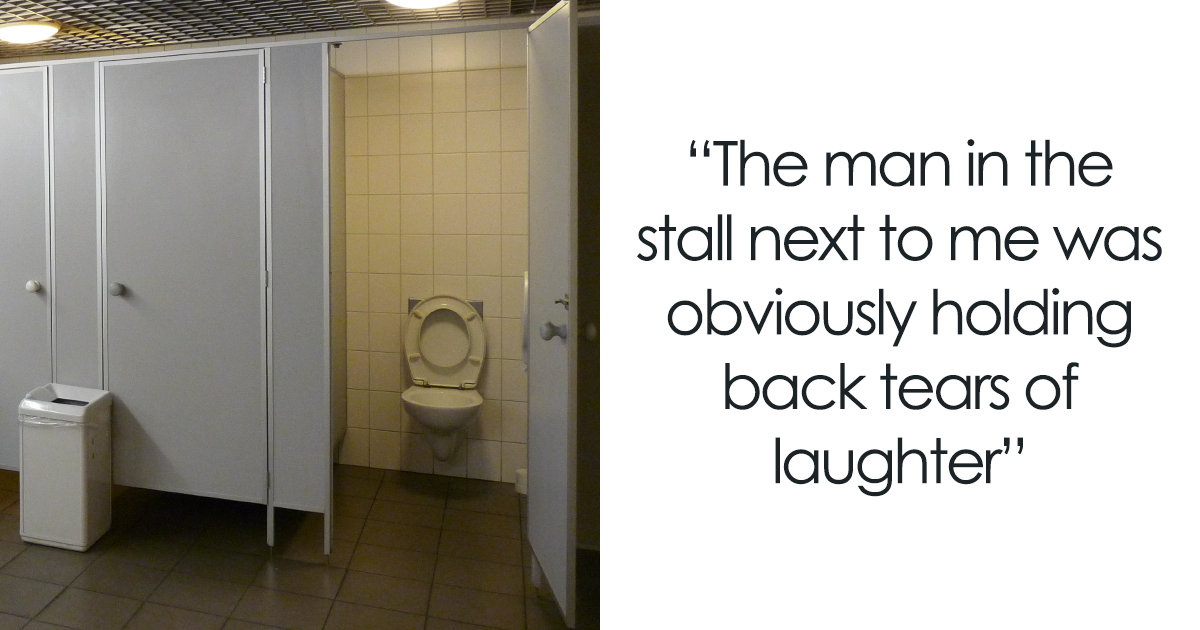 Dad Has Diarrhea In Public Toilet With His 4-Year-Old, Her ...