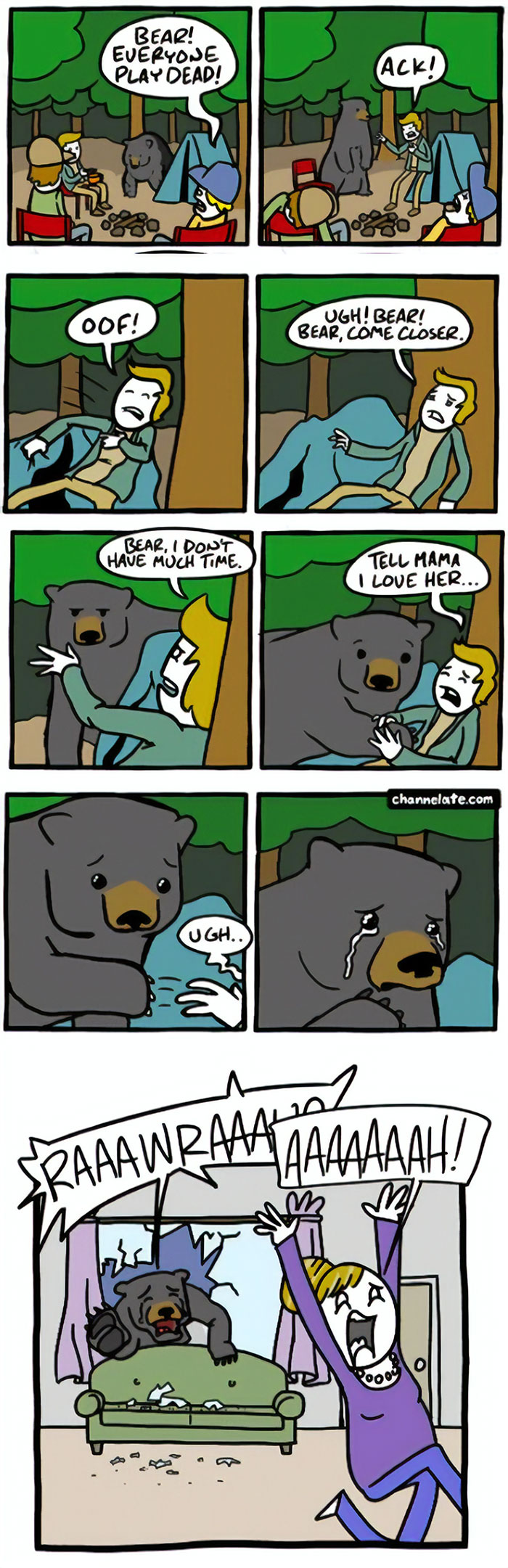 Animal Comic Sex 109 funny and dark comics with unexpected endings