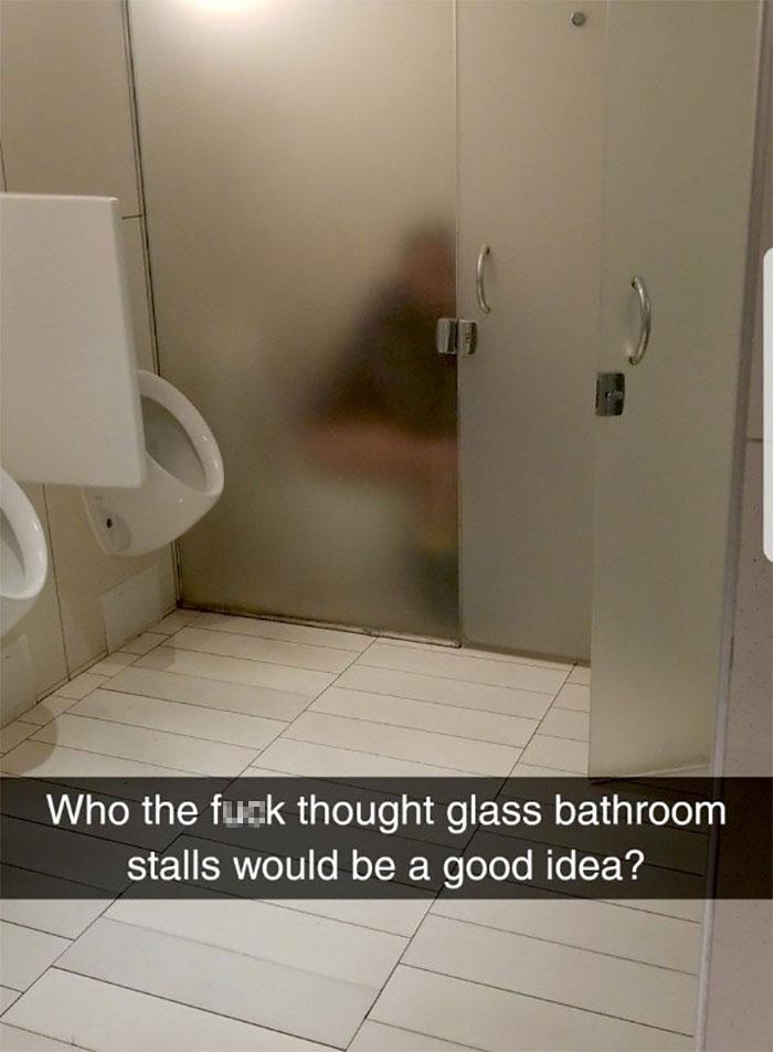 Class Stalls In Bathroom