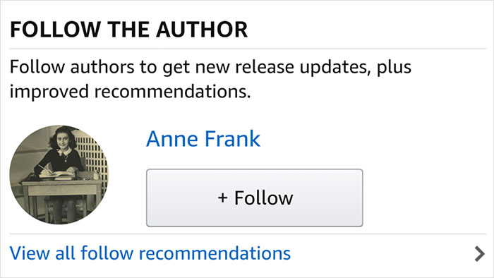 Thanks Amazon! Can't Wait For Her Next Book