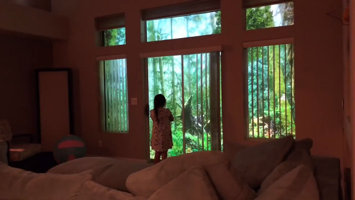 People Are Impressed At This Genius Surprise Dad Makes For His Dinosaur-Obsessed Daughter