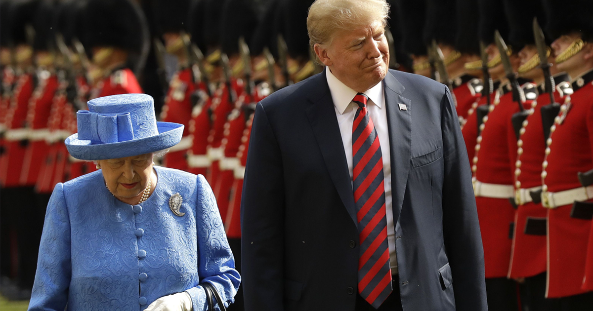 Internet Says That The Queen Trolled Trump In The Best Way Possible
