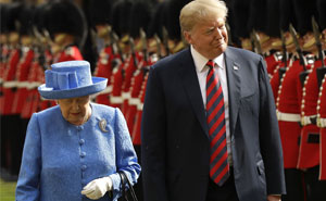 Someone Noticed The Subtle Way The Queen Trolled Trump, And This Theory Is Taking Internet By Storm