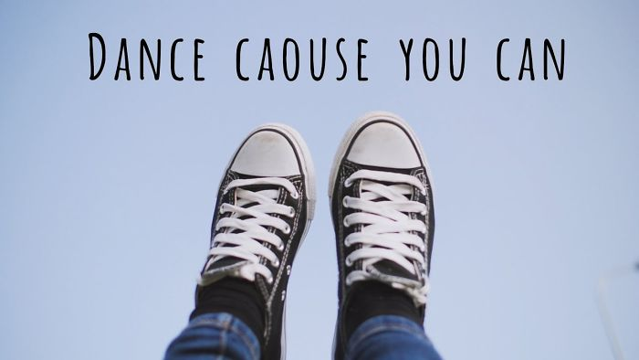 Dance Cause You Can – A Year Ago I Witnessed A Situation That Inspired Me To Create This Clip