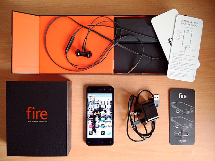 Amazon's Fire Phone, 2014