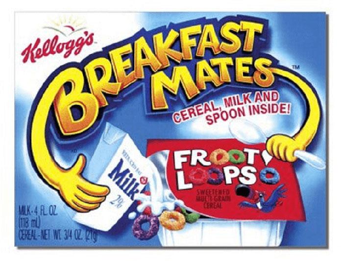 Breakfast Mates, Kellogg's, 1998