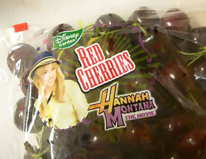 Hannah Montana Cherries, Disney, 2009