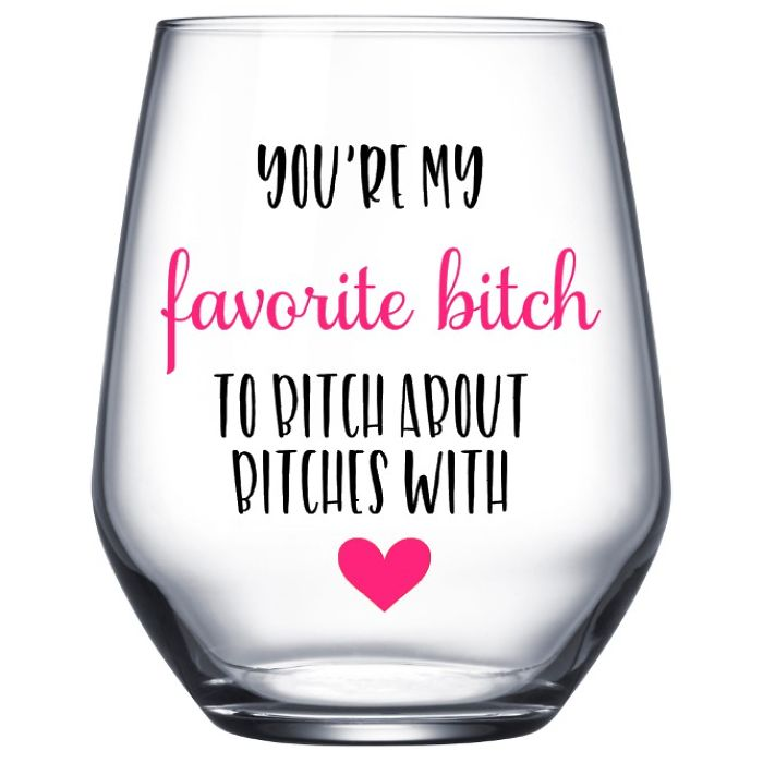 Funny Wine Glass Gifts