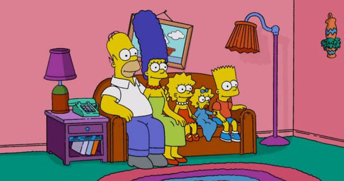 Here\'s How The Simpsons Living Room Might Look If They ...