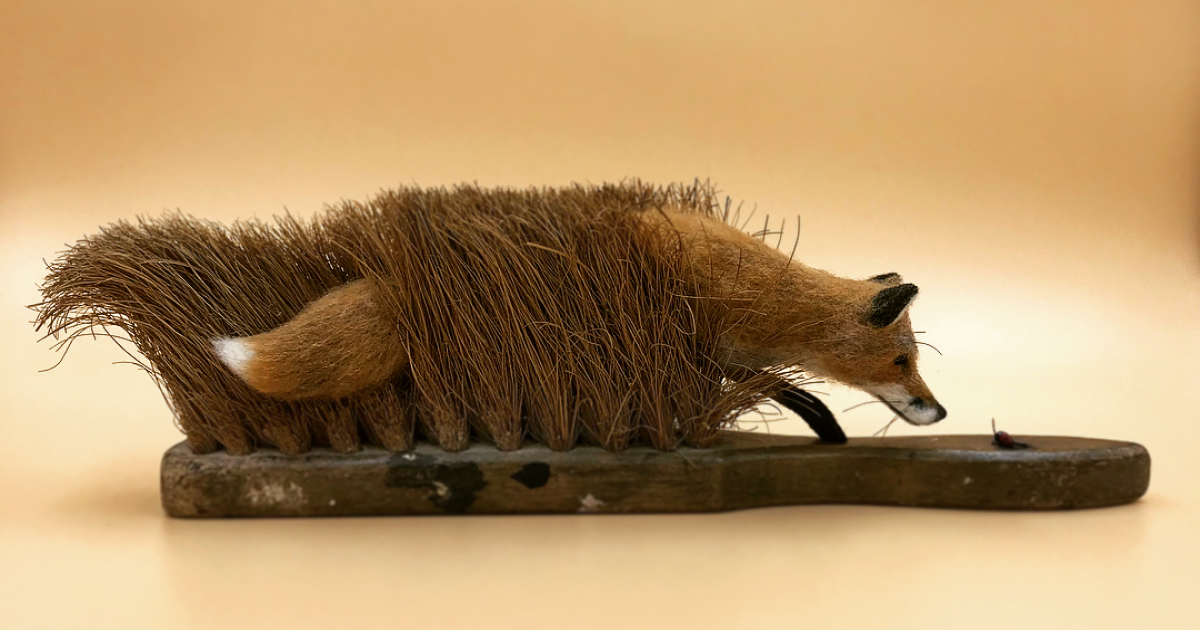 I Bring Old, Beaten Up Brushes Nobody Would Look Twice At Back To Life With My Felt Animals