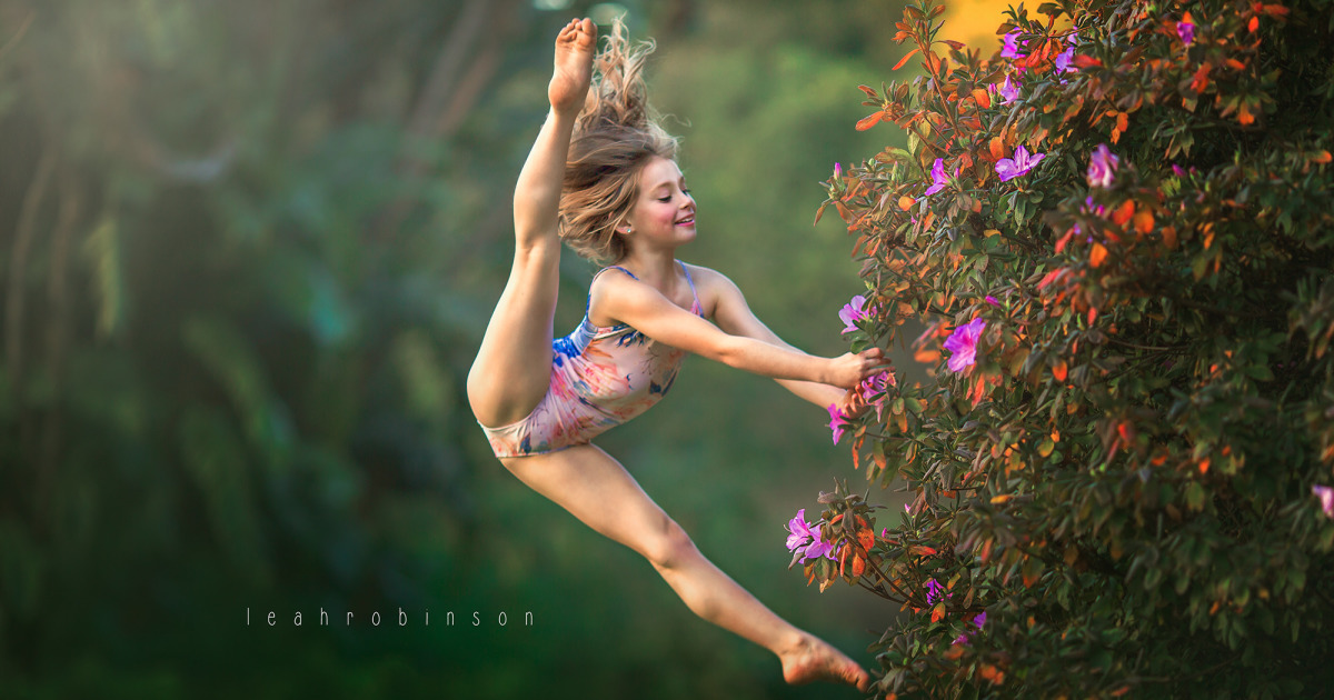 Australian Photographer Takes Incredible Images Of Young Dancers In Nature, And The Results Are Stunning