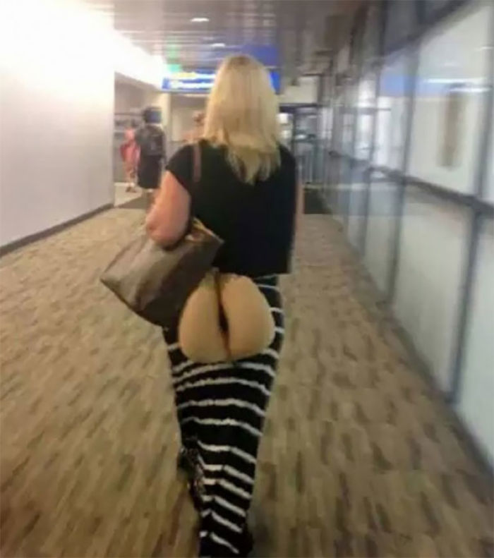 There Is A Wrong And A Right Way To Carry Your Beige Colored Neck Pillow Through The Airport