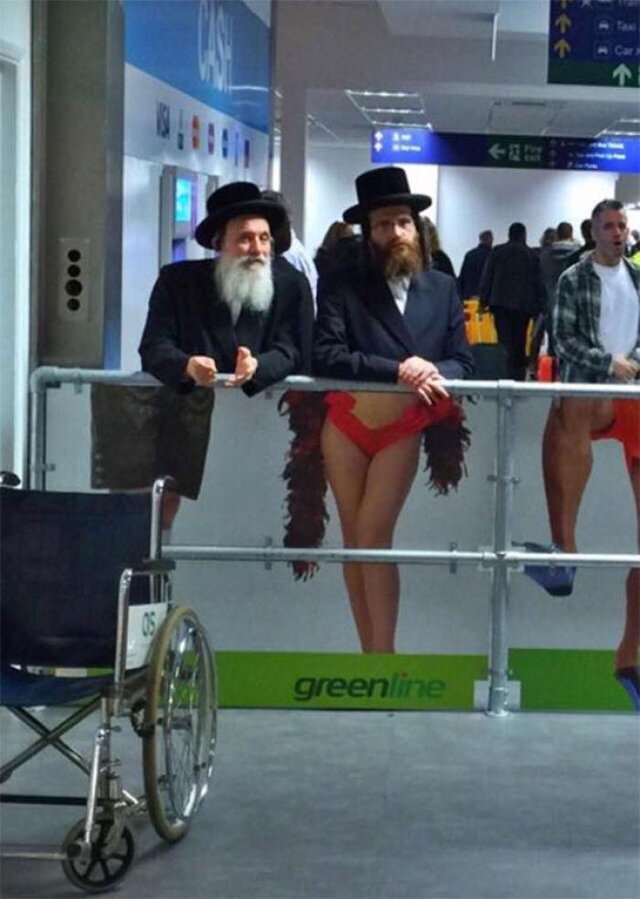 Visto en el aeropuerto de Tel Aviv