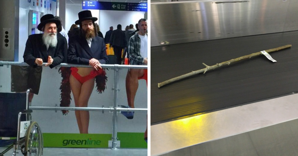 90+ Times People Had To Look Twice To Understand What They Were Seeing At The Airport