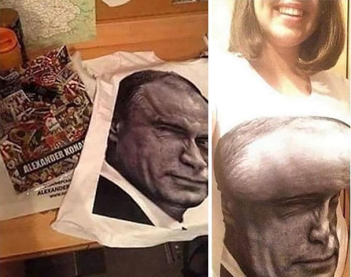 Camiseta de Putin