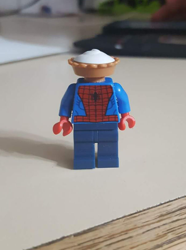 My 3 Year-Old Nephew Made This And Called Him Pie-Derman