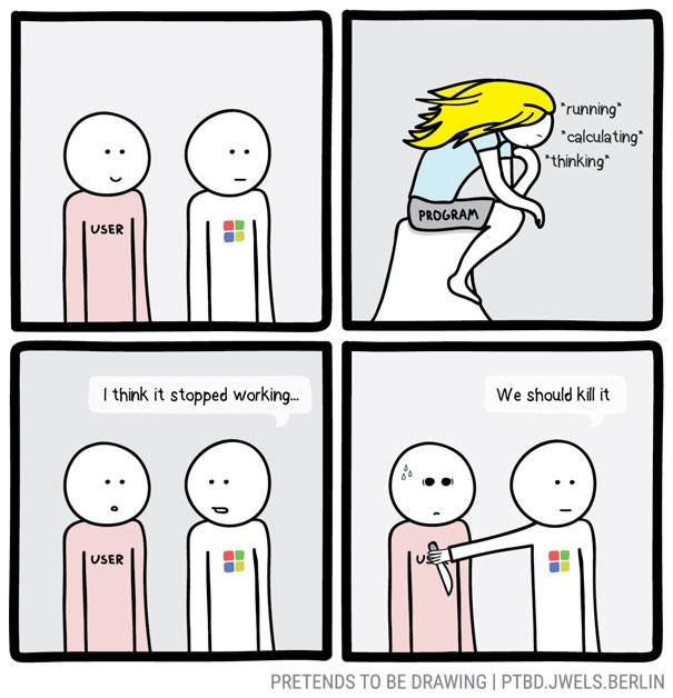 Windows Being Windows