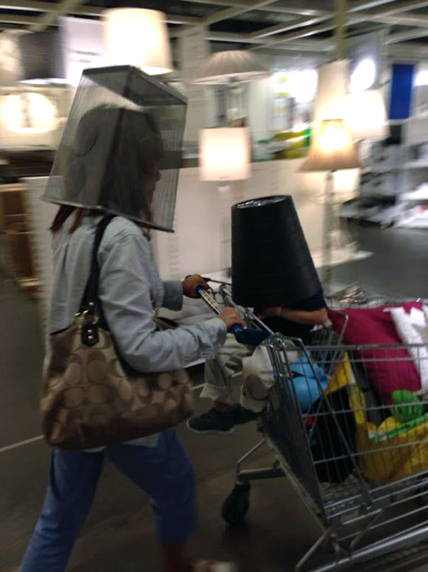 My Kid Decided To Be An Astronaut In IKEA And My Mom Followed Suit