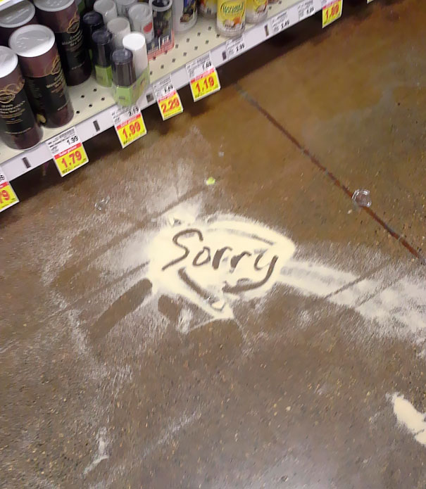 On The Floor At My Local Kroger