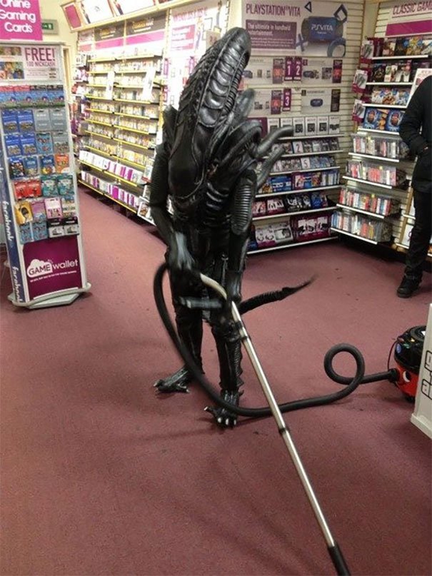 Damn Illegal Aliens Stealing Our Jobs