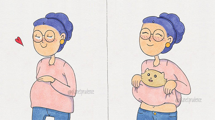 I Illustrate The Everyday Problems Of Being A Woman
