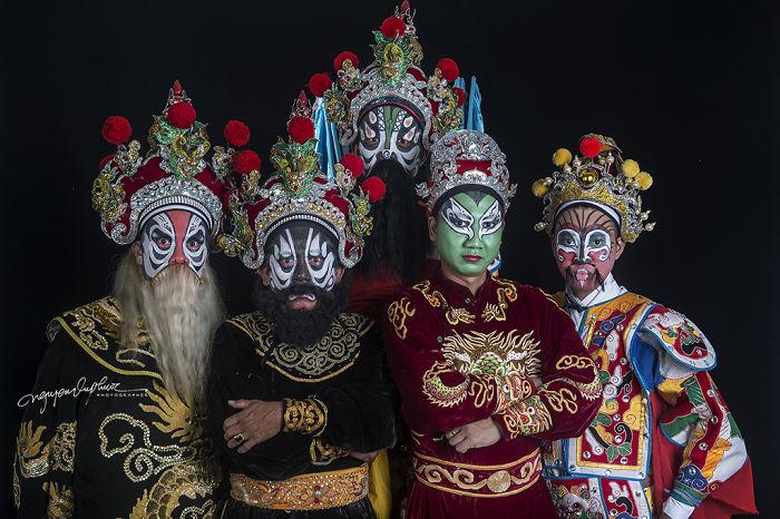 Hat Boi Face Paint Art