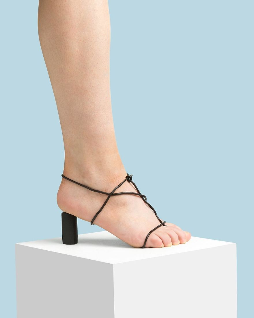 The Celine Inspired Liqourice Sandal