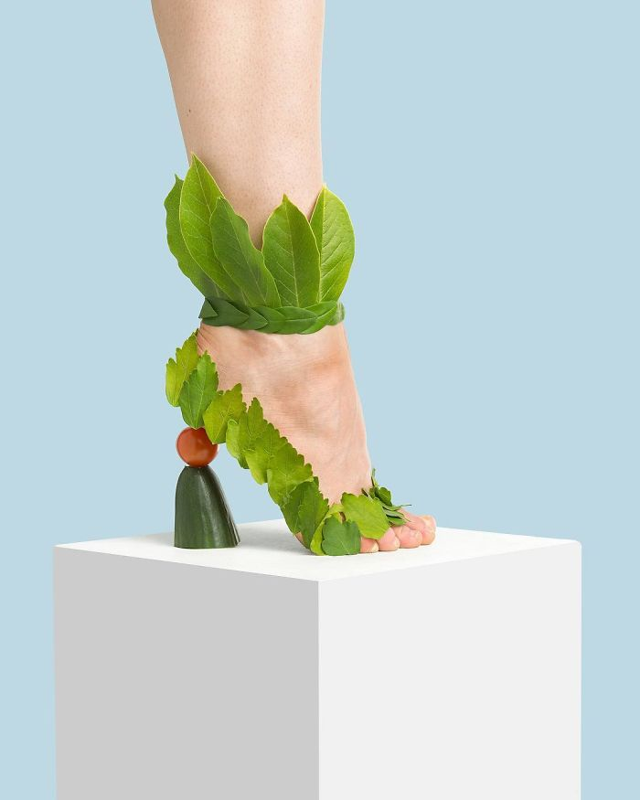 "The ""Leaf Me Alone"" Stiletto"
