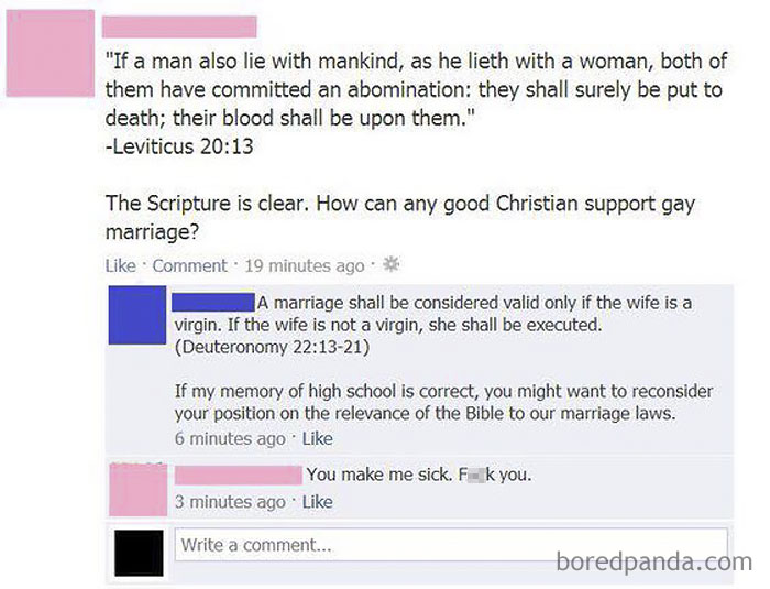 A Burn Of Biblical Proportions