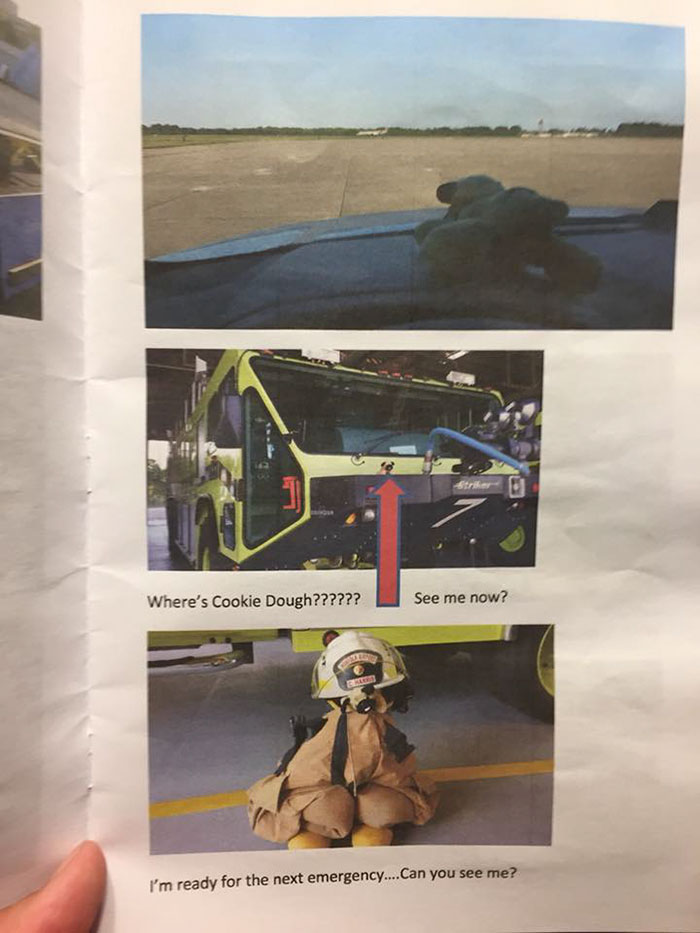 This Little Girl Lost Her Stuffed Toy At The Airport, And Got The Best Surprise From The The Airport Police