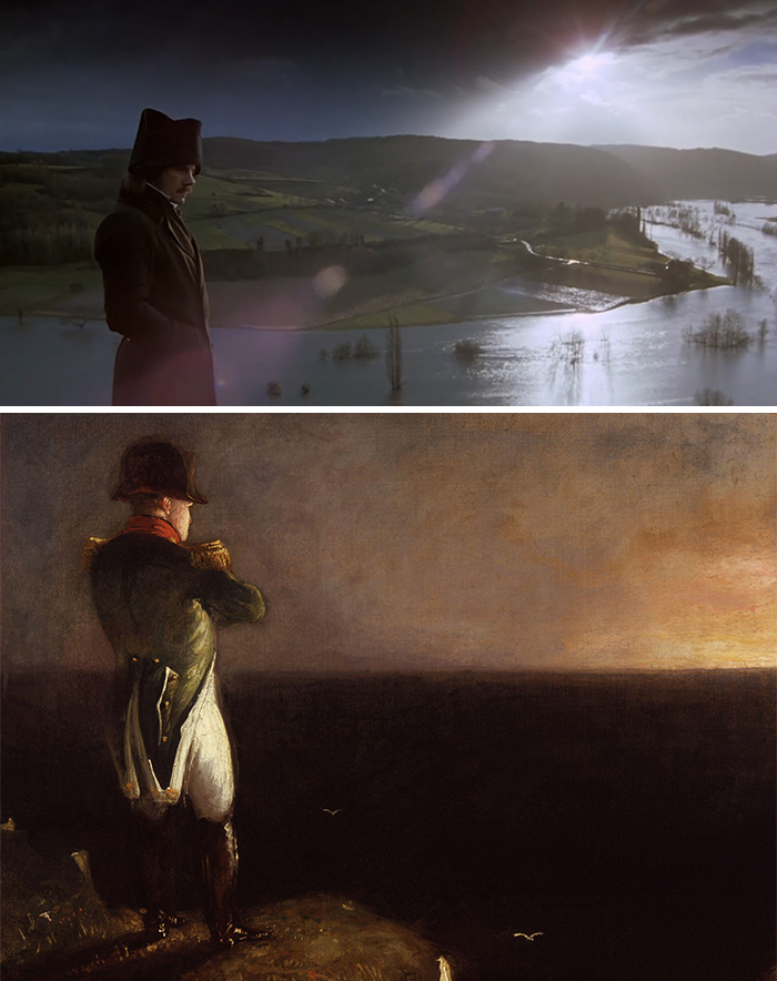 Movie: The Duellists (1977) vs. Painting: Napoleon Bonaparte Musing at St. Helena (1842) vs. The Duellists (1977)