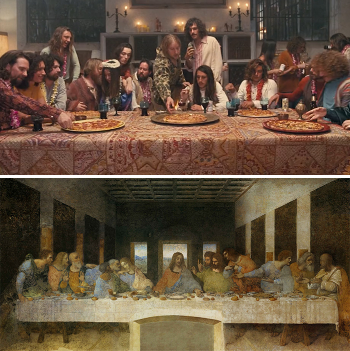 Movie: Inherent Vice (2014) vs. Painting: The Last Supper